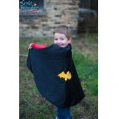 Great Pretenders Reversible Spider Bat Cape 3-4