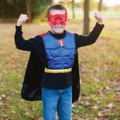 Great Pretenders Rev. Superhero/Bat Tunic with Mask 4-7