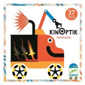 Djeco Kinoptik Vehicles - 38 pcs
