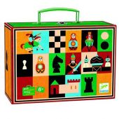 Djeco Nomads games Chess +Checkers