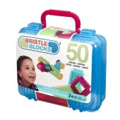 B. Bristle Blocks 50pcs in carry Case