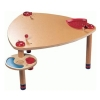 Game table bl. / Corn
