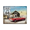 Nostalgic Μεταλλικό μαγνητάκι 'Route 66 The Mother Road'