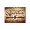 Nostalgic Μεταλλικό μαγνητάκι 'Coffee and Chocolate Coffee House'