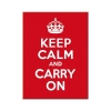 Nostalgic Μεταλλικό μαγνητάκι 'United Kingdom Keep Calm and Carry On'