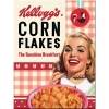 Nostalgic Μεταλλικό μαγνητάκι 'Kellogg's - Girl Corn Flakes Collage