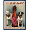 Nostalgic Tin Sign 30x40cm Tennents Lager