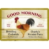 Nostalgic Tin Sign 20x30cm 'Good Morning'