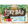 Nostalgic Tin Sign 20x30cm Tiki Bar Open Bar