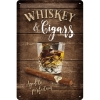 Nostalgic Tin Sign 20x30cm Open Bar Whiskey