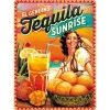 Nostalgic Tin Sign 30x40 cm Cocktail Time -Tequila Sunrise