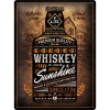 Nostalgic Tin Sign 30 x 40 Whiskey Sunshine Open Bar