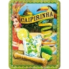 Nostalgic Tin Sign 15x20 Cocktail-Time -Caipirinha