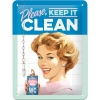 Nostalgic Tin Sign 15x20 Say it 50's Keep it Clean