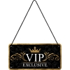 Nostalgic Hanging Sign Achtung VIP Exclusive