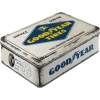 Nostalgic Tin Box Flat Goodyear - Logo White