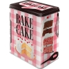 Nostalgic Tin Box L Home & Country Bake A Cake