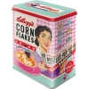 Nostalgic Μεταλλικό κουτί μεγάλο 'Kellogg's - Happy Hostess Corn Flakes'