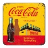 Nostalgic μεταλλικό σουβερ Coca-Cola - In Bottles Yellow