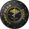 Nostalgic Wall Clock Goodyear Wheel