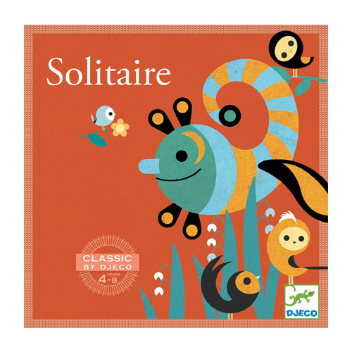 Djeco Eπιτραπέζιο παιχνίδι Solitaire