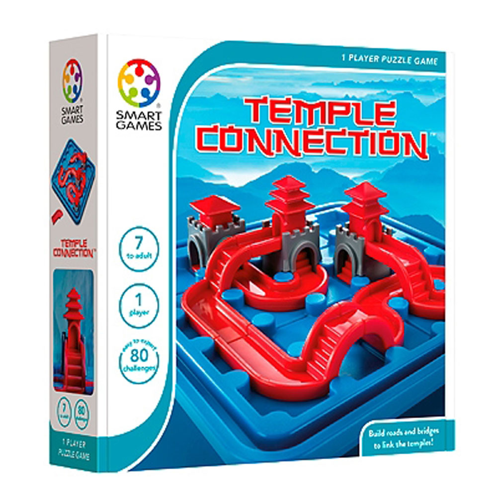 Smartgames επιτραπέζιο 'Temple Connection' (80 challenges)